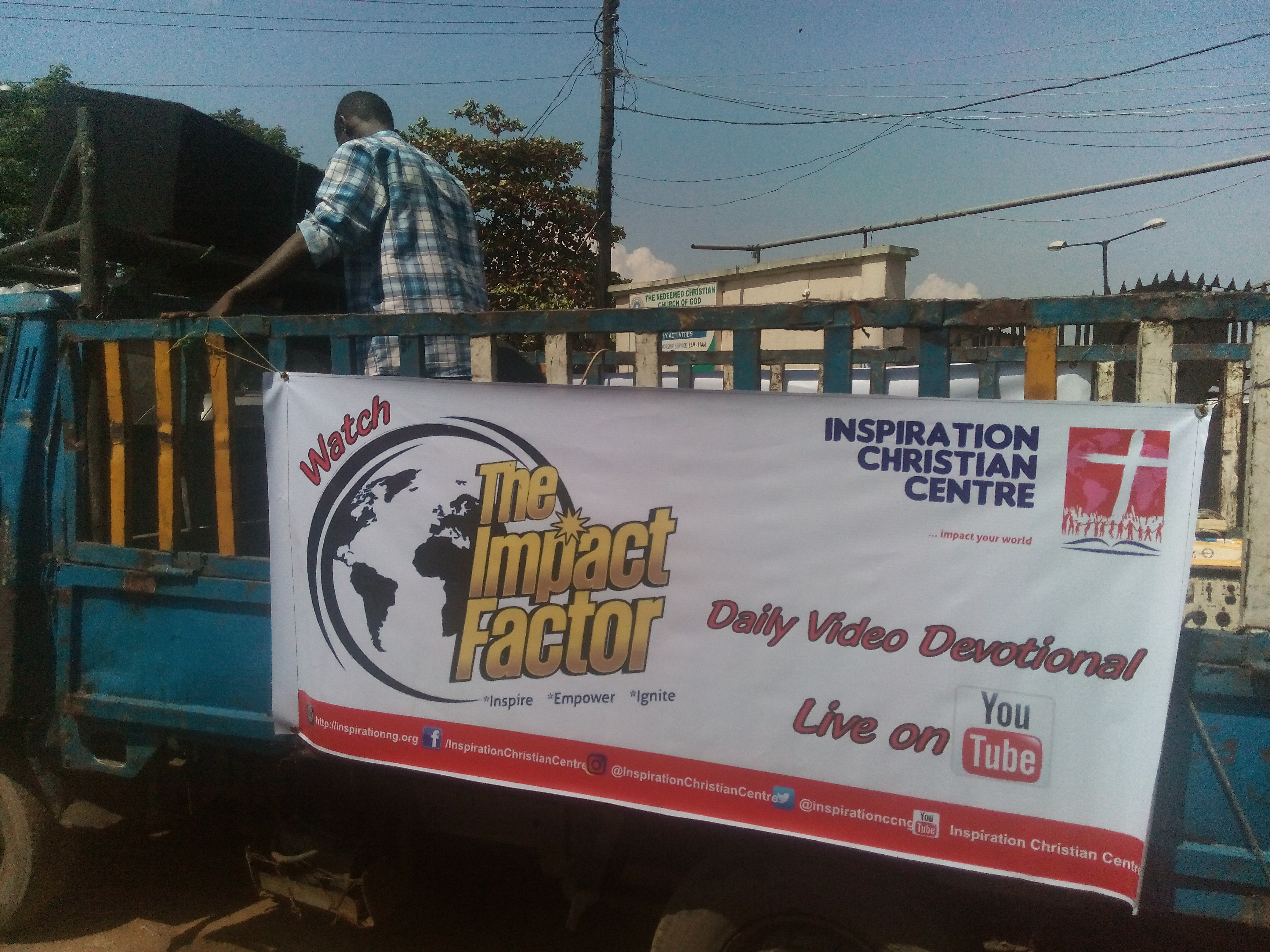 Inspiration Train Outreach