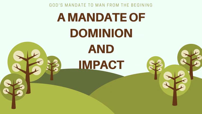 Mandate of Dominion